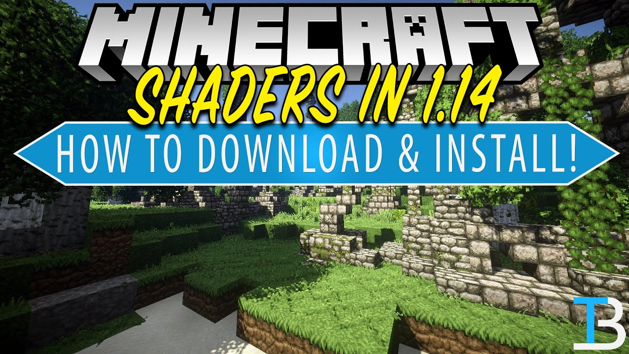 How To Download & Install Shaders in Minecraft 12.124