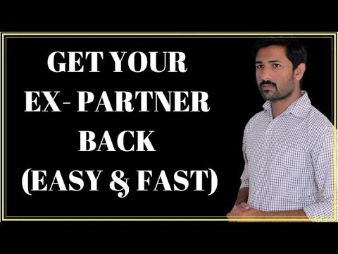 How To Get Your Ex Girlfriend Back Hindi