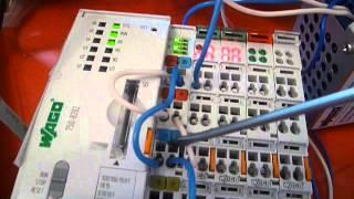 Wago ПЛК первые шаги подключаем датчик 4-20 mA к модулю Wago750-455