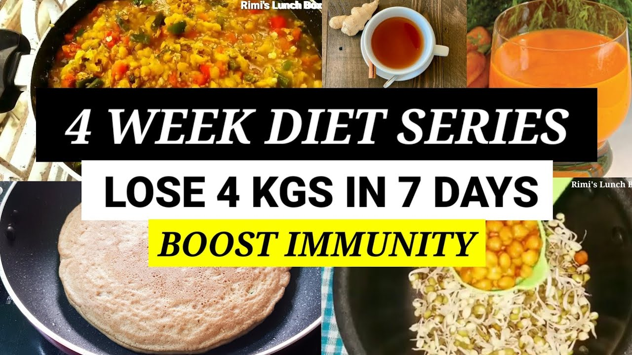 4 WEEK SUMMER DIET SERIES - WEEK 3 | How To Lose 4 Kgs In 7 Days |Full Day Meal Plan For Weightloss