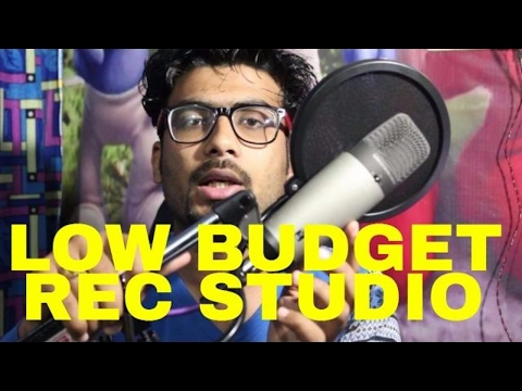 Very Low Budget Home Recording Studio for Persnal Use in HINDI   GURU BHAI RAPPER   HOWTORAP