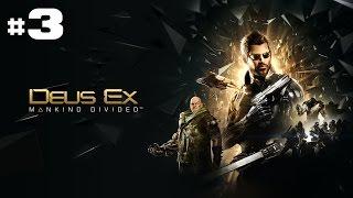 Episode 3 de Deus Ex Mankind Divided Il faudra que je note quelque part de revenir tuer les flics et sinon mon patron a pas lair trs content OO Cl CD PC