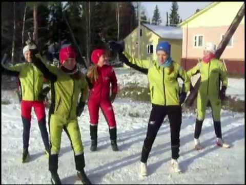 Поздравление с юбилеем тренера по лыжным гонкам