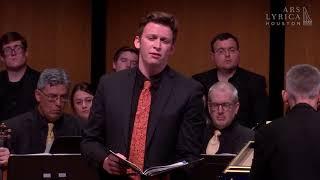 """""""Wie starb die Heldin so vergnügt"""" BWV 198 J.S. Bach, Aryeh Nussbaum Cohen, countertenor"""