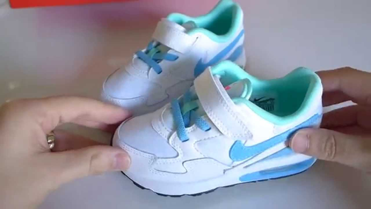 infants nike air max trainers