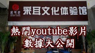 [神州穿梭.深圳]#61 熱門youtube影片數據大公開|youtube影片走勢圖|采耳匠影片數據全公開
