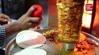 Saudi Arabian Street Food Shawarma | Street Food Around Hyderabad
