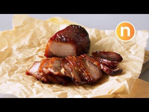 Chinese Roasted BBQ Pork   Char Siew   Char Siu   叉燒 [Nyonya Cooking]