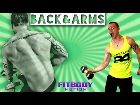 Back & Arm Workout Week