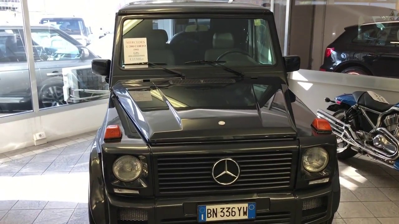 MERCEDES-BENZ CLASSE G 200 SW CORTO ** GPL ** - YouTube