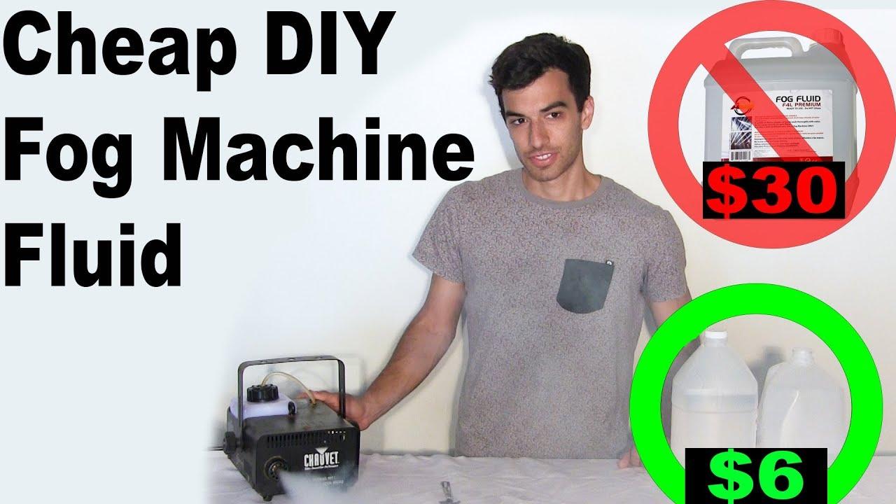 Diy Fog Machine Fluid Homemade Youtube