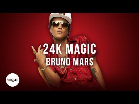 Bruno Mars - 24k Magic (Official Karaoke Version) | SongJam