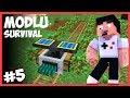 OTOMATİK AĞAÇ SİSTEMİ - Minecraft Modlu Survival - #5