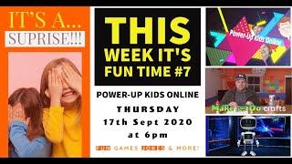 Power Up Kids Online - Fun Time 7