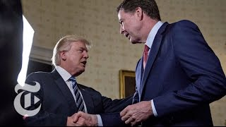 Donald Trump vs. James Comey: Key Moments In A Public Scuffle | The New York Times