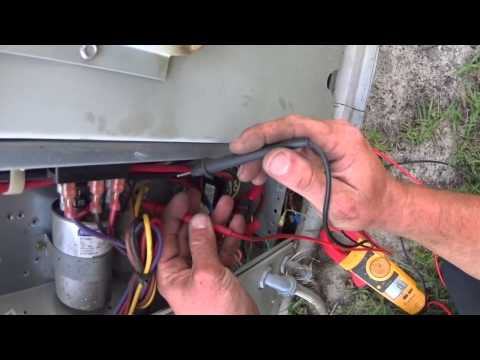 HVAC Service: No Cooling, Blank Thermostat Trane YCC