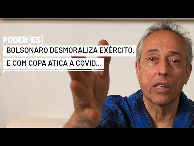 Bolsonaro desmoraliza Exército blindando general Pazuello e ofende vítimas da Covid com Copa América