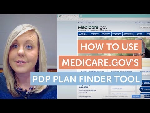 How To Use Medicare.gov's Prescription Drug Plan Finder Tool