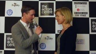 Alan Bates Award 2016 - Juliet Stevenson