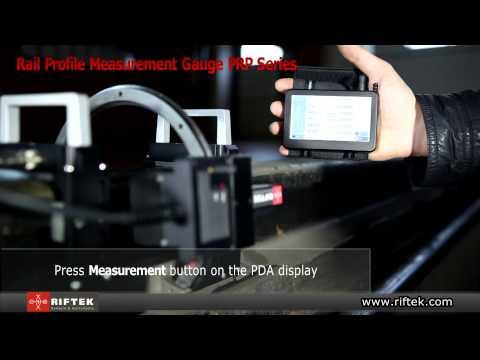 Rail profile measurement gauge PRP Series