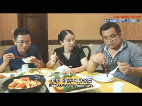 Food culture Guangzhou Chinese S1 EP8 : Fried bamboo insects baked you dare to eat it