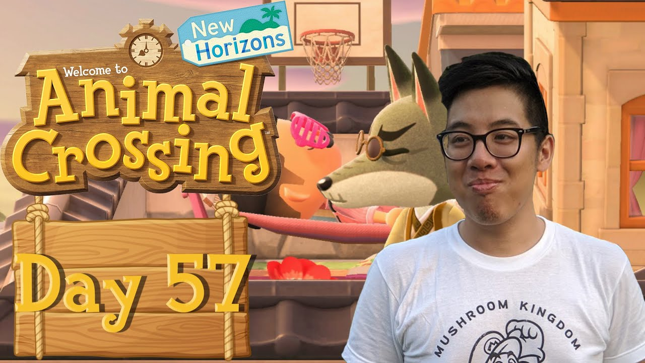 Animal Crossing: New Horizon Vlog Day #57: Spring Cleaning ...