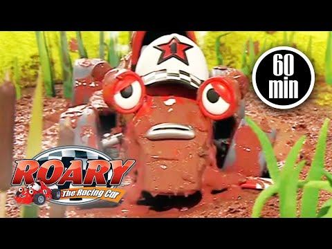 Roary The Racing Car Official | 1 HOUR COMPILATION | Roary Full Episodes | Kids Movies