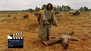 """Сцена из комедии""""Начало времен""""(2009), Каин и Авель"""