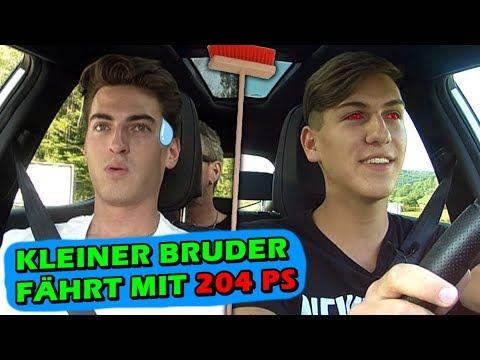 Mein 17-jähriger Bruder fährt mein neues Auto | Besenhaft unterwegs #2