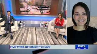 I WAS ON THE NEWS TALKING ABOUT CREDIT!!! (PIX11 NEWS SEGMENT)