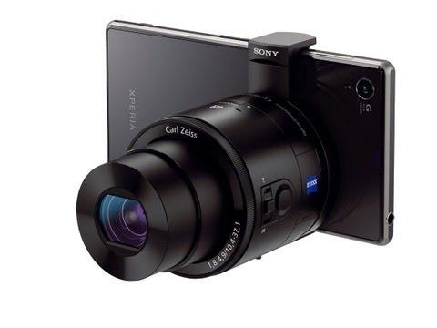Lens style Camera per smartphone DSC-QX100 e DSC-QX10