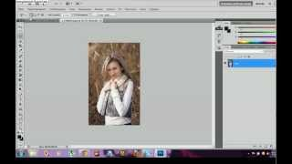 Как поменять фон в Adobe Photoshop CS5 урок 1