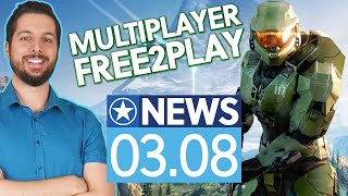 Halo Infinite Multiplayer in 120 FPS & Free2Play - News