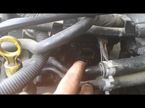 04 dodge neon camshaft position sensor replacment