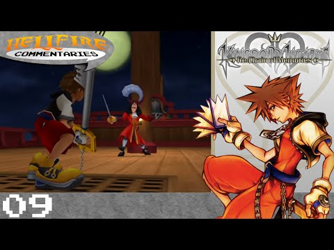 Kingdom Hearts Re: Chain of Memories playthrough [Part 9: Off to Never Never Land]