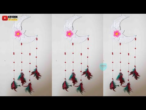 How to Make a Moon Dream catcher | DIY  Home Decor | Super Easy Step by Step
