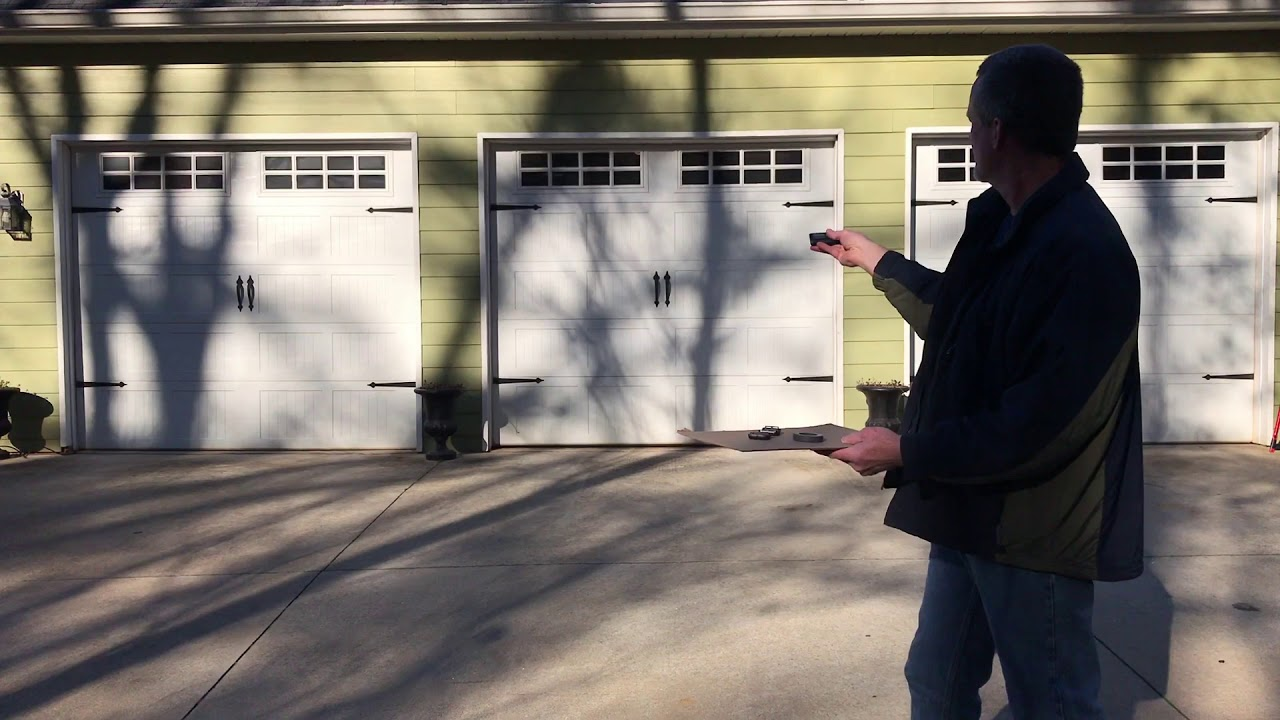 Led Lights Interfere With Garage Door Remote Fix Youtube