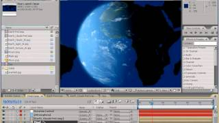 Erstellen einer Realistischen 3d-Erde mit nur AE