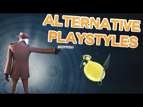 Sharpshooter Spy! [Alternative Playstyles in TF2]