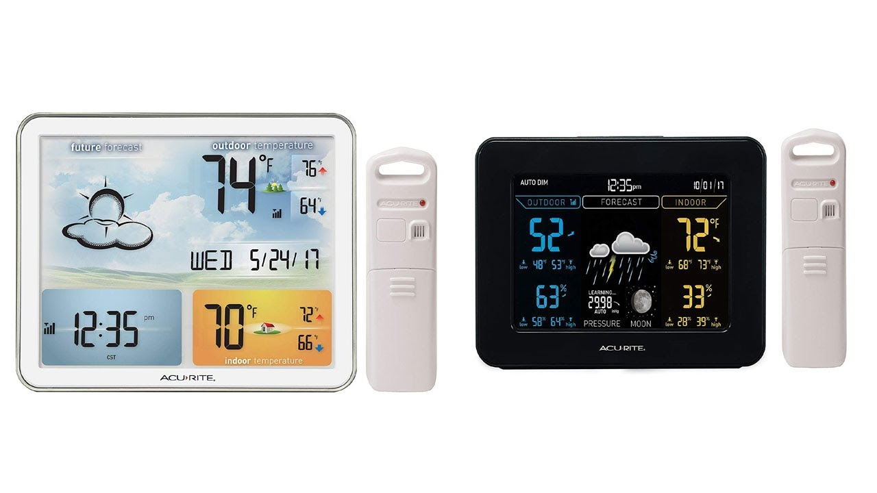 Top 5 Best Home Wireless Weather Stations 2019 Youtube