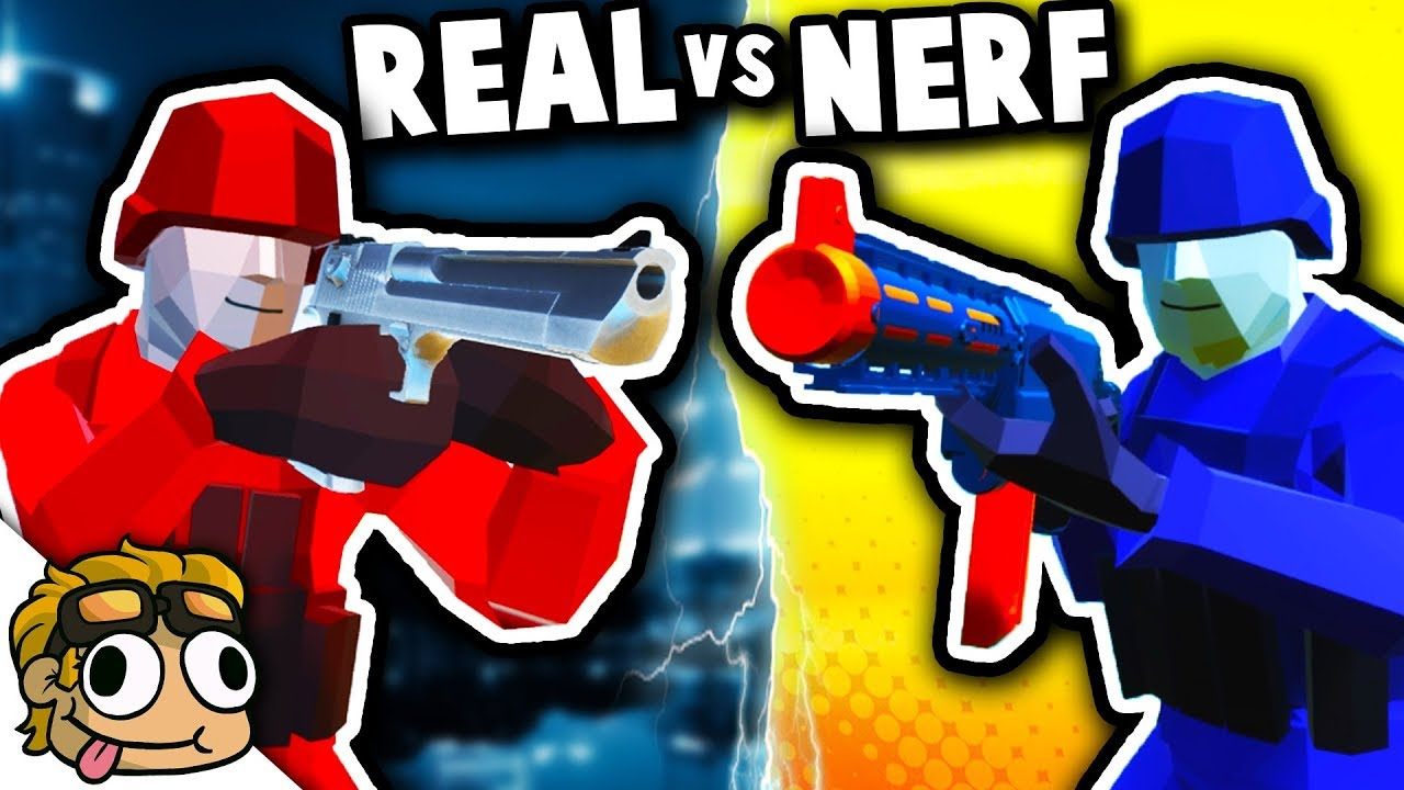 REALISTIC WEAPONS vs NERF WEAPONS! | Ravenfield Best Mods Gameplay (Early  Access 11)