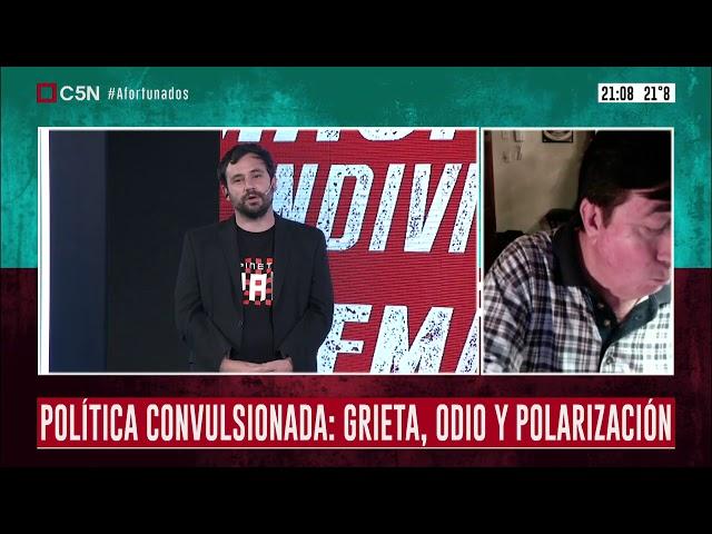 Debate con Durán Barba en C5N
