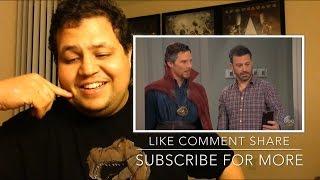 Jimmy Kimmel Hires Dr Strange REACTION!!
