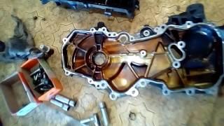 Замена масла в двигателе  Nissan X-Trail.\\Ленивый автовладелец.