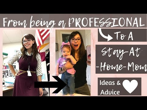 Becoming a Stay-At-Home-Mom: Transitioning From Working to being a SAHM