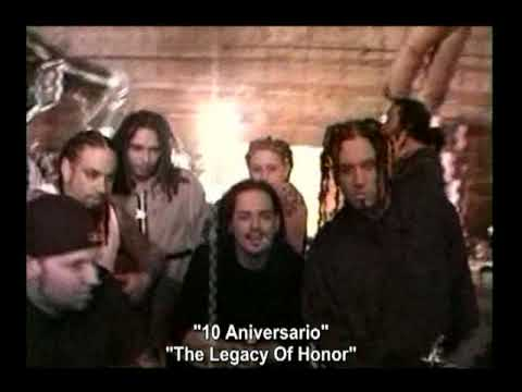 "Korn - Falling Away From Me ""Behind The Scenes 10 Aniversario"""
