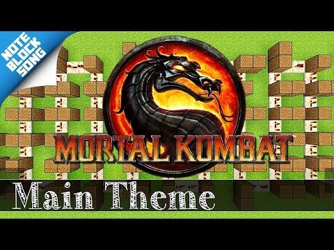Mortal Kombat - MAIN THEME - Minecraft Note Block Song