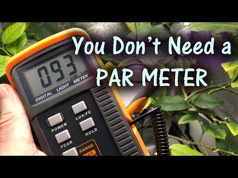 Calculate PAR With A Cheap LUX Meter Easily | LUX Vs PAR Meter Part 2