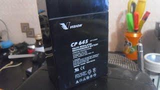 відновлення акумулятора і переробка ліхтарика 11
