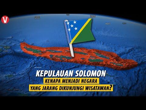 Negara yang jarang dikunjungi Wisatawan? Inilah Negara Kepulauan Solomon...
